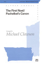 The First Noel / Pachelbel's Canon - TBB (SATB recording)