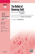 The Ballad of Sweeney Todd - SATB