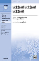 Let It Snow! Let It Snow! Let It Snow! - SAB (SATB recording)