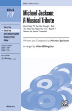 Michael Jackson: A Musical Tribute - SAB (SATB recording)