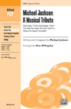 Michael Jackson: A Musical Tribute - 2-part (SATB recording)