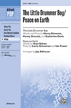 The Little Drummer Boy/Peace On Earth - SAB (SATB recording)