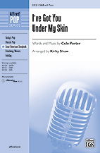 I've You Under My Skin - SAB (SATB recording)