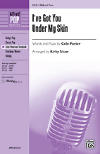 I've You Under My Skin - SSA (SATB recording)