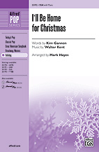 I'll Be Home for Christmas - SSA (SATB recording)