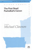 The First Noel / Pachelbel's Canon - 3-Part Mixed (SATB recording)