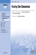Frosty the Snowman - SAB (SATB recording)