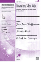 Pavane for a Silent Night - SATB w/ opt. oboe or C-instrument