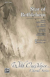 Star of Bethlehem - SAB (SATB recording)
