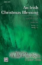 An Irish Christmas Blessing - SATB