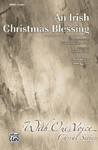 An Irish Christmas Blessing - 2-Part (SATB recording)