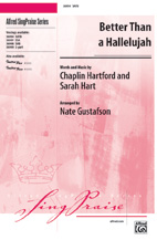 Better Than a Hallelujah - SATB
