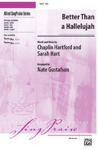 Better Than a Hallelujah - SSA (SATB recording)