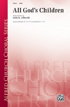 All God's Children - SATB