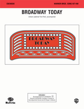Broadway Today: Song Kit #30, No. 3 of 6