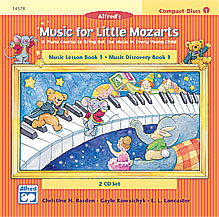 Music for Little Mozarts: Music for Lesson Book 1